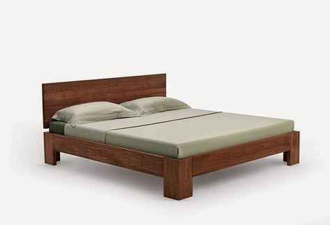 The Riletto bed by Team 7 team7furniture Minimalist beds - team 7 schlafzimmer