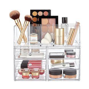 Idesign Clarity Stackable Makeup System Makeup Storage Makeup