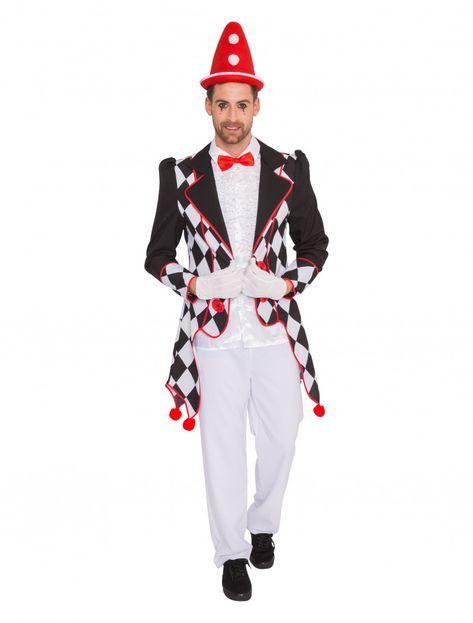 Mantel Jacket Lappen Damen Karnevalskostüm Fasching Alaaf Rot