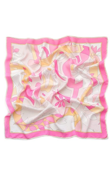 Vintage Pucci Sherbert Square Scarf from Sweet & Spark