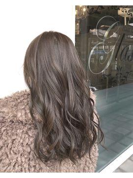 アッシュグレージュカラー Hair Gallery Glass ヘアギャラリーグラス