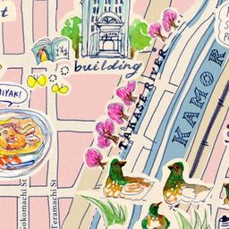 Kyoto Sweets Map