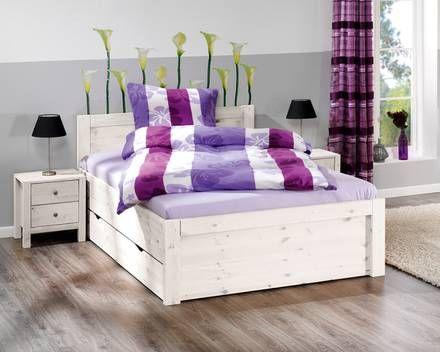 Bett »Rufus« (weiß lackiert) KDB home Pinterest Lackieren - dänisches bettenlager schlafzimmer