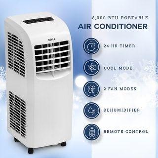 Della 8000 Btu Portable Air Conditioner Fan 70 Pint Day