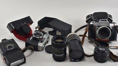 Ebay Sponsored E93l24 3x Alte Kamera Mit Zubehor Photographica