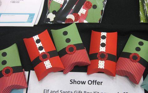 Pillow box kits, craft fair ideas. Stampin Up Demonstrator UK