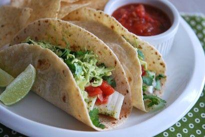 Fish Tacos with Avocado-Cabbage Slaw | Tasty Kitchen: A Happy Recipe Community!