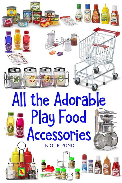 Best Play Food For The Toy Kitchen Play Kitchen Kids Play