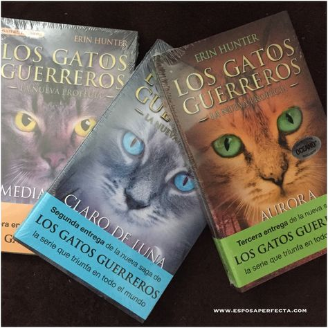 Los Gatos Guerreros La Nueva Profecía Los Gatos Guerreros Guerreros Gatos