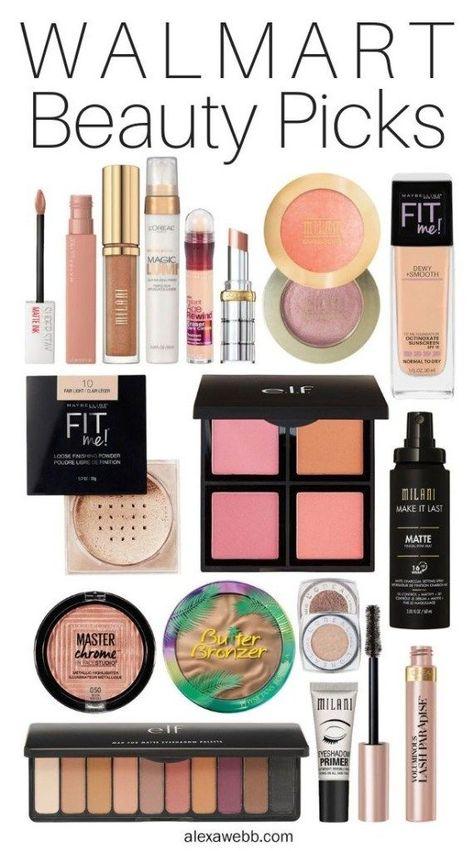 Walmart Beauty Picks - Alexa Webb