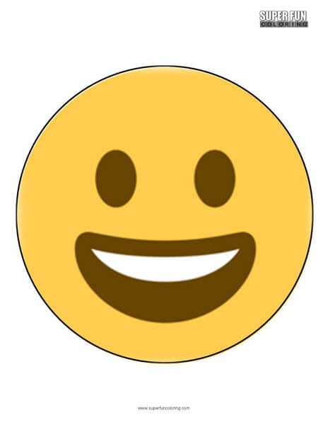 Twitter Smiling Faces Emoji Coloring Emoji Cool Coloring Pages Funny Emoticons