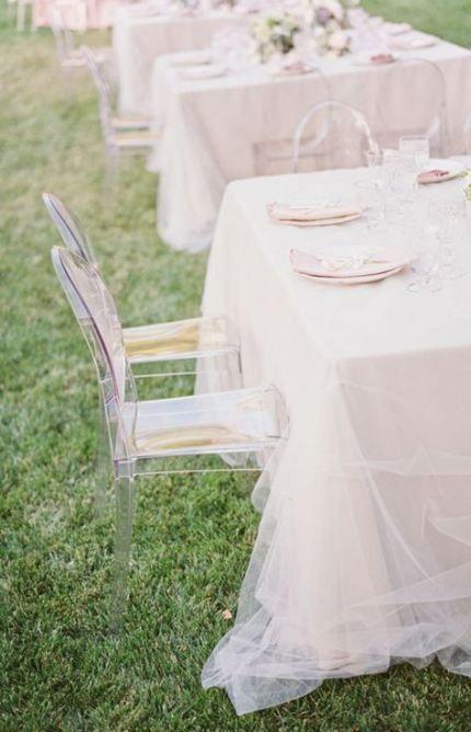 55 Ideas Wedding Table Cloths Diy Plastic Tablecloth For 2019 Wedding Table Linens Tulle Tablecloth Tulle Table