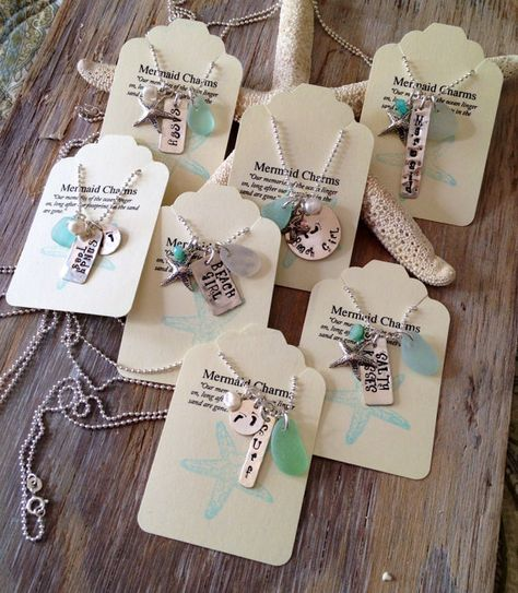 Say It Your Beachy Way Sea Glass Necklace Starfish Charm