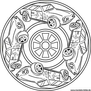 Mandala Auto Fur Jungs Auto Zum Ausmalen Ausmalen Ausmalbilder Jungs
