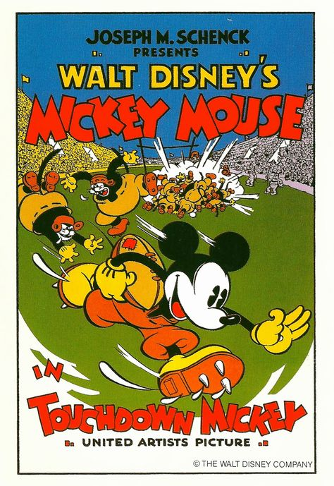 Mickey Mouse in Touchdown Mickey