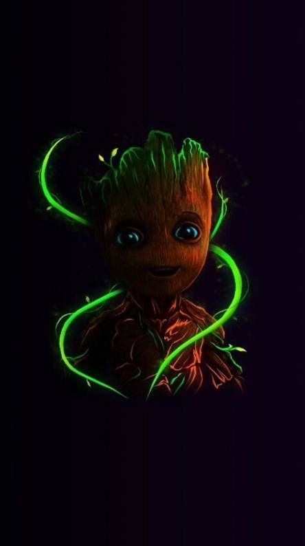 Baby Groot Wallpaper Hd Android With Images Groot Marvel