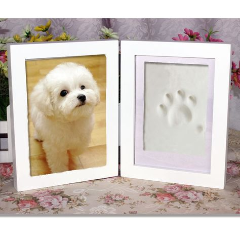 22bd67bd406c QR cat Frame,cat Frame Paws Memorial for Dogs Cats in Loving Memory,Baby  Frame Boy Girl First Year Ultrasound,Wood Frame,Dual Desk Frame Non Toxic  and Safe ...