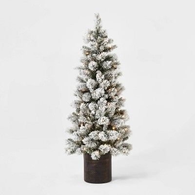 Target Holiday Home Decor Cirque Du Solayne In 2021 Potted Christmas Trees Artificial Christmas Tree Christmas Tree