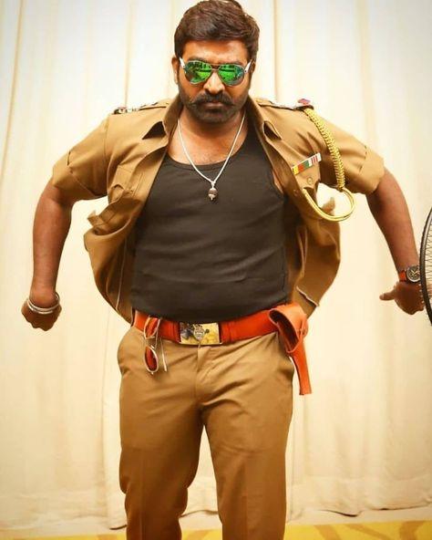 """Indiaglitz Tamil on Instagram: """"Stylish cop look of #VijaySethupathi 🔥😎 #SangaThamizhan @actorvijaysethupathi"""""""