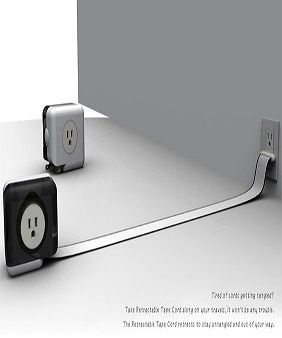 Pin By Sammie Russell 3 On Plugged In With Images Retractable Cord Extension Cord Extension Reel