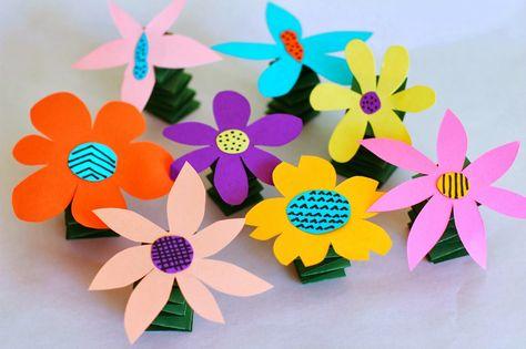 Salsa Pie: DIY Spring-y Flowers!