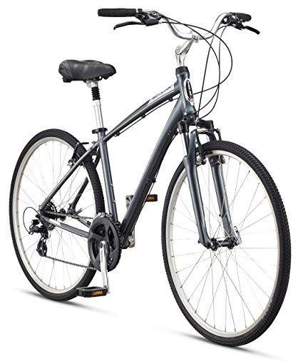 Schwinn Men S Voyager 1 700c Wheels Hybrid Bicycle Review Hybrid Bicycle Bicycle Schwinn