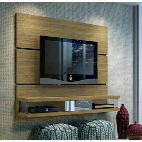 panneau mural tv deco meuble tv