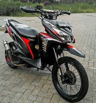 Gambar Modifikasi Motor Beat Trail Masih Kesulitan Membayangkan Bentuk Honda Beat Modif Trail Anda By Gambarmodifikasi Posted On June 24 2 Motor Honda Mobil
