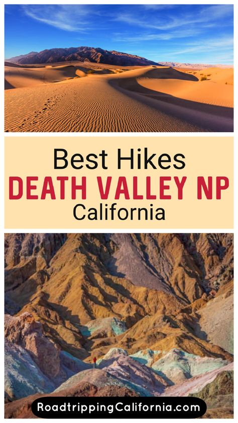 Best Hikes in Death Valley National Park