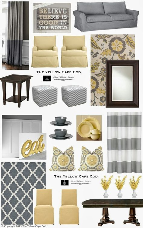 3 Great Color Palettes For The Waltonwood Senior Living Community In  Charlotte   Grey Yellow, Cozy And Gray