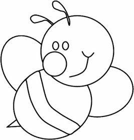 Desenholandia Desenhos De Abelhas Para Pintar Moldes De Abelhas