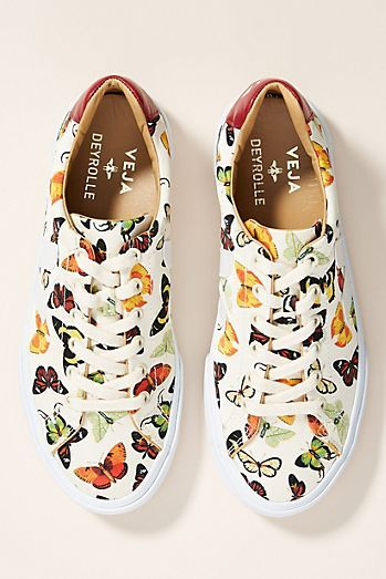 Veja x Deyrolle Butterfly Sneakers