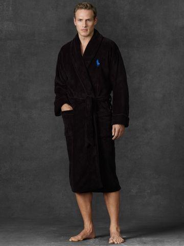 dd360a7d2e4 Chenille Shawl-Collar Robe - Polo Ralph Lauren Sleepwear  u0026 Robes -  RalphLauren.