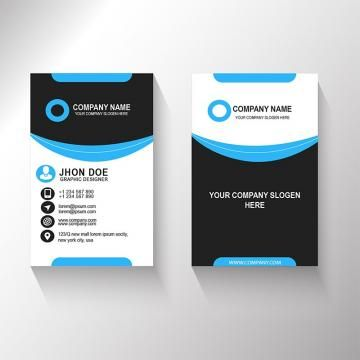 Vertical Business Card New Design Vertical Business Cards Modern Business Cards Business Card Design