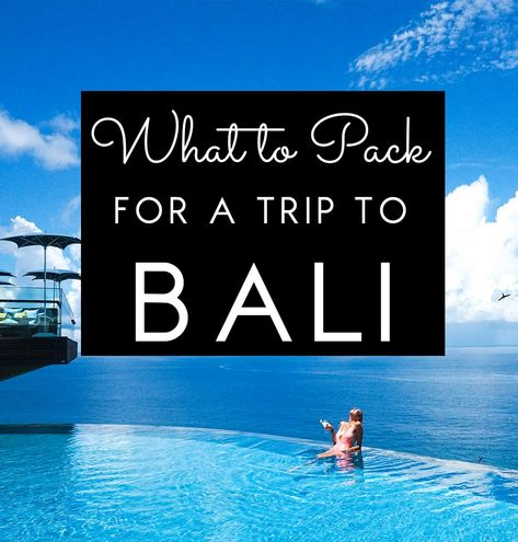 """Traveling to Bali and wondering what to pack for your trip? Whether youre on your honeymoon, traveling solo, finding the perfect bali outfits can make your vacation! I get asked all the time """"What do I pack for a vacation in Bali?"""", so heres your packing guide - the Ultimate Bali Packing List"""