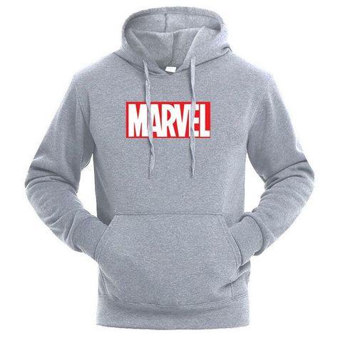 Fall Superhero Hoodies Men Marvel Hooded Joggers Jacket Coat Sportswear Tracksuit Casual Fitness Hoodie Men
