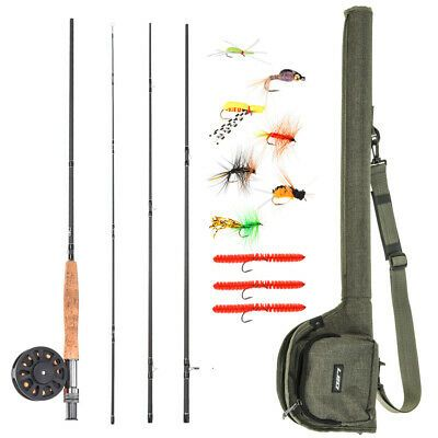 Shakespeare Royalty Salmon Fly Rod 14 3 Piece Woven Graphite 10 11 In 2020 Salmon Flies Fly Rods Rod
