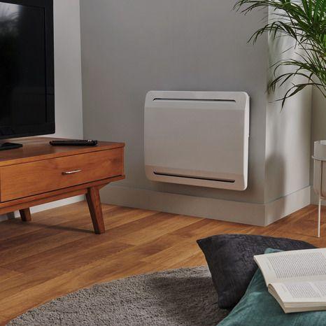 Radiateur Acier Thermostat Electronique Cœur Chauffant En Ceramique Inertie Seche Ecran Lcd Bricodepot Radiateur Radiateur Inertie Radiateur Electrique