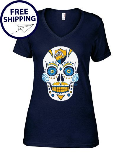 San Diego Chargers  Dia De Los Bolts by AFApparel on Etsy