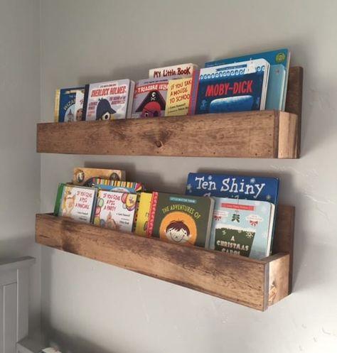 Floating Bookshelves Set Of 2 Kids Room Bookshelves