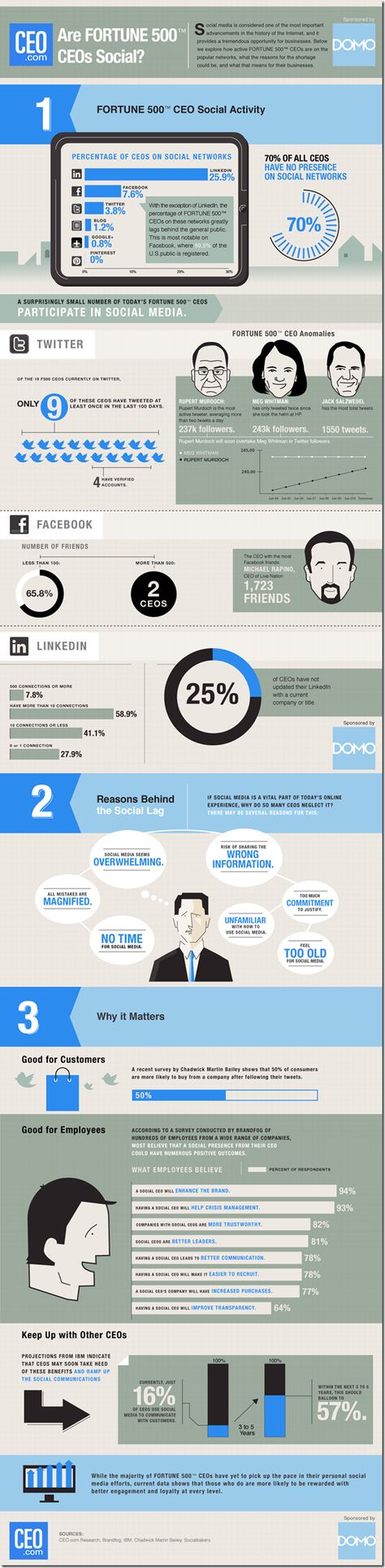 Social-CEO-Index-2012 #infographic