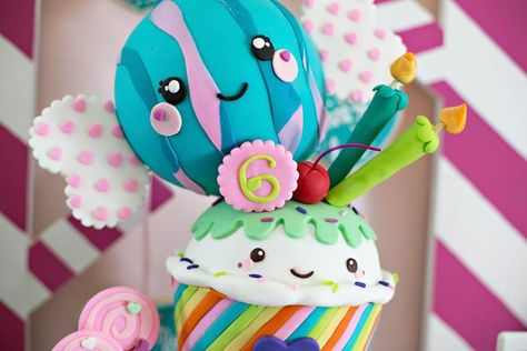 Sugar Rush Candy Party with REALLY CUTE Ideas via Kara's Party Ideas | KarasPartyIdeas.com #WreckItRalph #SugarRush #Baking #PartyIdeas #PartySupplies