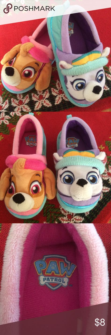 paw patrol slippers preowned cute paw patrol slippers sz