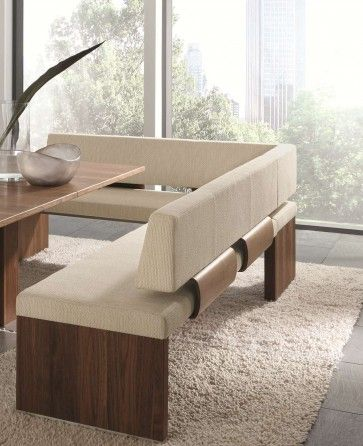 Impuls Single Bench With Upholstery Back P3 By Venjakob