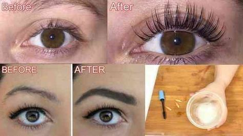 24d885c7aeb How To Grow Long/Thicker Eyelashes & Eyebrows In a Week / How To Grow Eye  Lashes