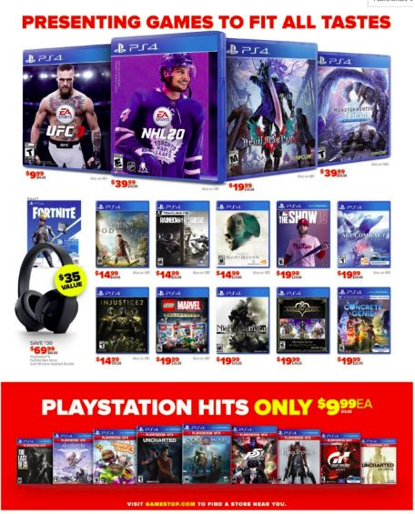 Gamestop After Christmas 20 Sale Offers Deals On Thrilling Games Black Friday 2019 Black Friday Christmas Sale