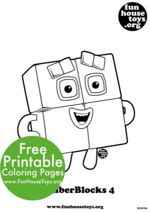 Free Numberblocks Printables Coloring Pages For Kids Preschool Printables Coloring For Kids