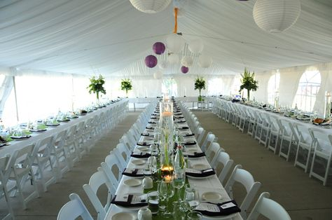 REAL DOOR COUNTY WEDDING. Gorgeous billowy tent reception. Photography by Art of Exposure. Wedding Location: Woodwalk Gallery.