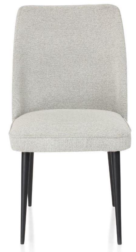 Chaise Design En Tissu Beige Mette Beige Chaise Design