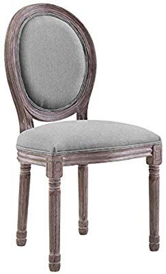 Amazon Com Modway Eei 2821 Lgr Vintage French Upholstered Fabric